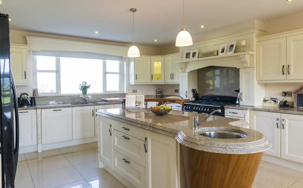 Ivory Kitchen With Granite Worktop