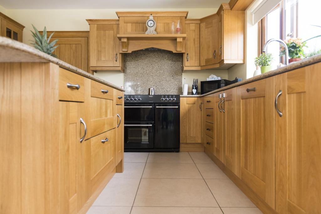 kitchens newry solid oak shaker kitchen